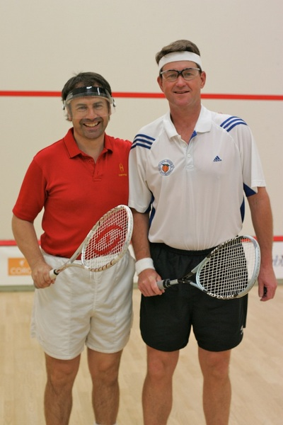 Mr.Richard Millman & Eben Hardie - Squash Professionals.