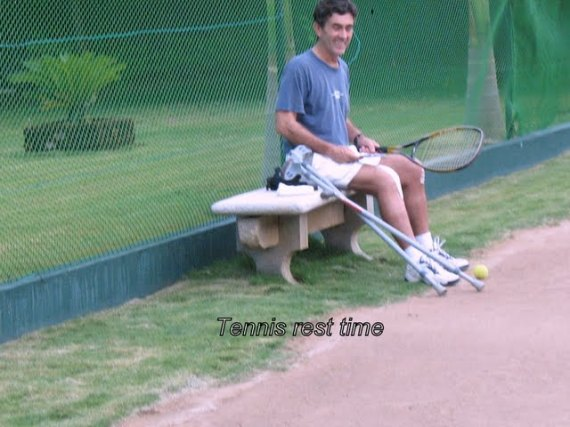 Tennis rest time